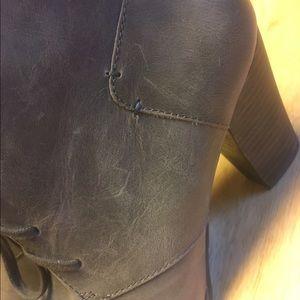 79be95d2 Heath Wren Grey Lace-up Booties 8 Indigo by Clarks