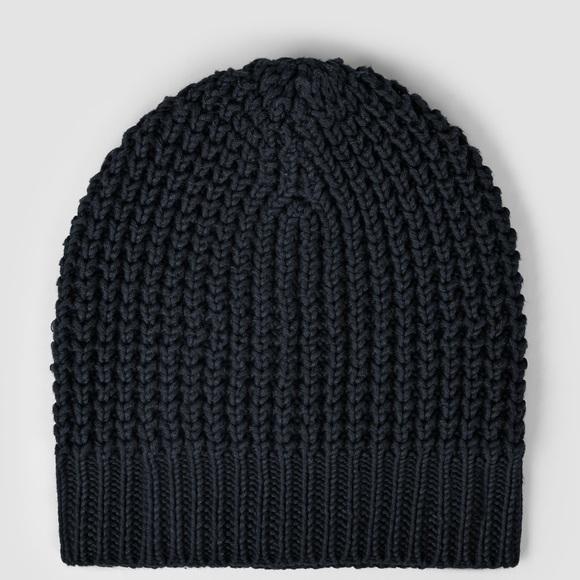85678c564afb9 AllSaints ALL SAINTS Rok Beanie Hat Ink