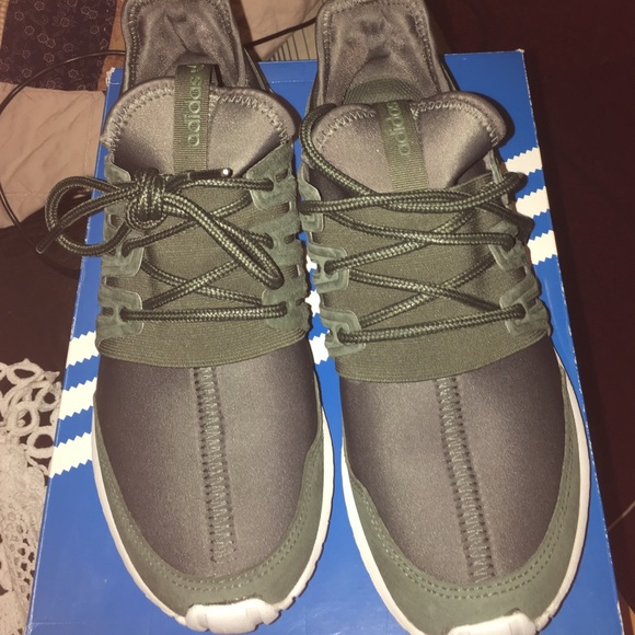 9c7e99f133f1 Adidas Other - Adidas Tubular Radial in olive green