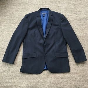INC International Concepts Other - INC Black Pinstripe Suit Jacket Men's XL