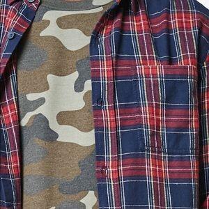 PacSun Tops - Pacsun Plaid Flannel Long Sleeve Button Up Shirt