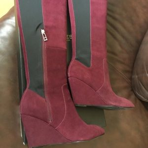 Charles David Shoes - Like new Charles by Charles David Suede Boots