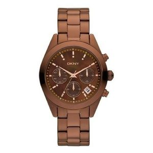 DKNY Women's Brown Stainless steel-New, Authentic.