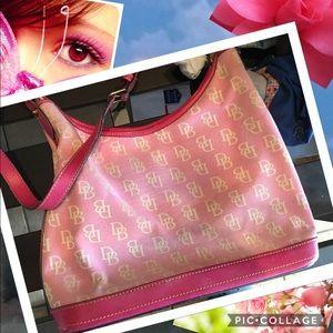 Dooney & Bourke Handbags - Downey and Bourne Pretty in Pink Handbag