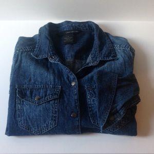 Calvin Klein Jeans Tops - Calvin Klein Jeans denim shirt