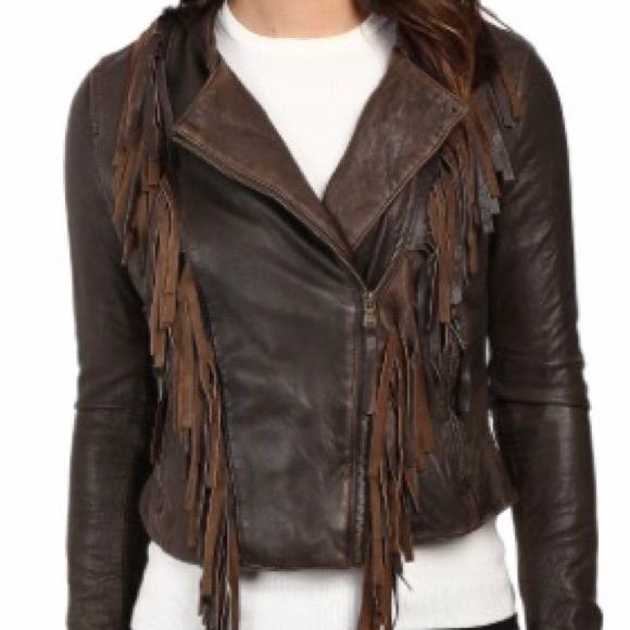 67% off Levi's Jackets & Blazers - Levi's women's brown leather ...