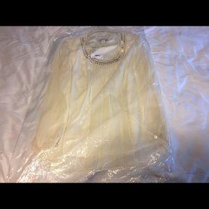Coldwater Creek Tops - Beautiful chiffon beaded blouse