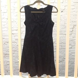 Marc Jacobs navy dress with hearts and bows