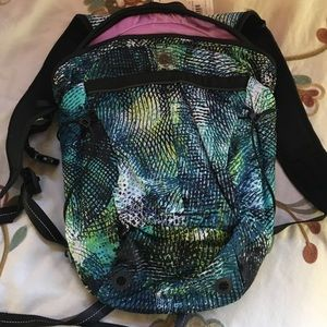lululemon athletica Handbags - Run all day backpack seaweeze