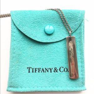 Tiffany & Co. Jewelry - Tiffany & Co Silver Bar Pendant Necklace