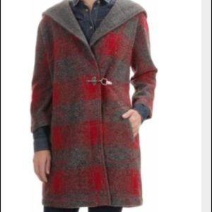 Max Studio Hooded Jacket size Small oversized hood