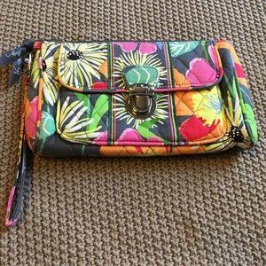 Vera Bradley Handbags - Vera Bradley jazzy blooms wristlet