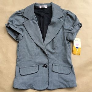 Soulmates Jackets & Blazers - Brand New with Tags black &a white ss blazer