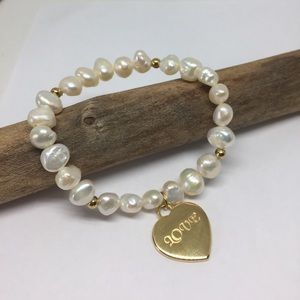 Jewelry - Stainless Steel/ Freshwater Pearl