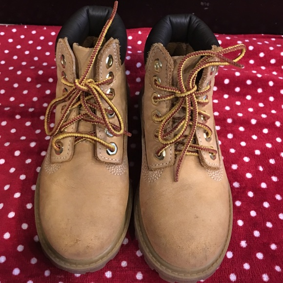 timberland boots toddler size 9