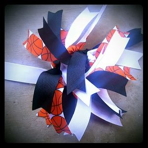 Accessories - Basketball Hair Tie (can be made an any color)