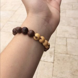 Natural fruit seeds bracelet