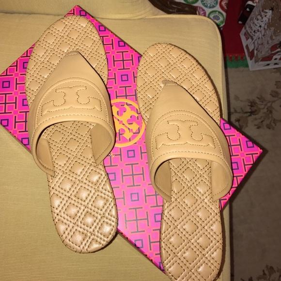 9dd084b1c Tory Burch Fleming Flat Thong Sandal Size 10