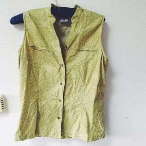 Tops - Lime Green Vest