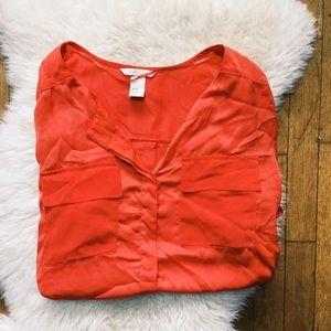 H&M Tops - Short Sleeve Blouse