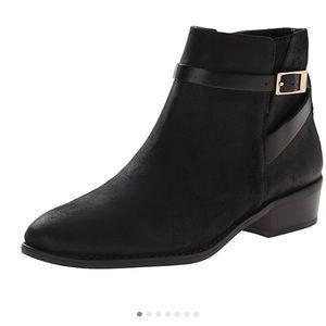 Franco Sarto Booties: Black; Size 9