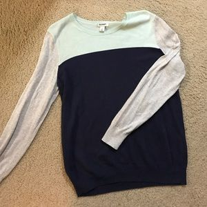 Old Navy Colorblock Sweater