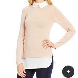 Daniel Cremieux Sweaters - Peter Pan collar sweater