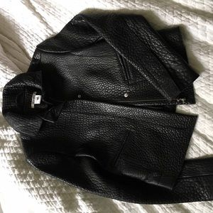 Carven Jackets & Blazers - Authentic Carven pebbled leather jacket