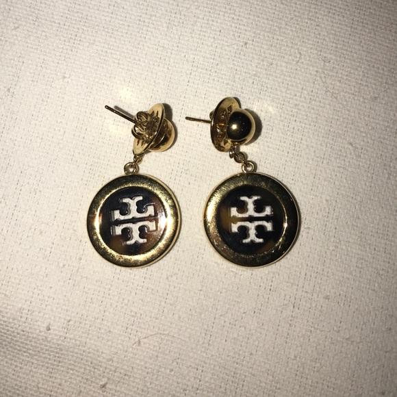 6e64e79ce Tory Burch Jewelry | Goldtortoise Dangly Earring | Poshmark
