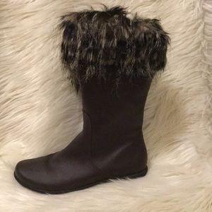 SALE!!!Furry Boot Cuff Socks