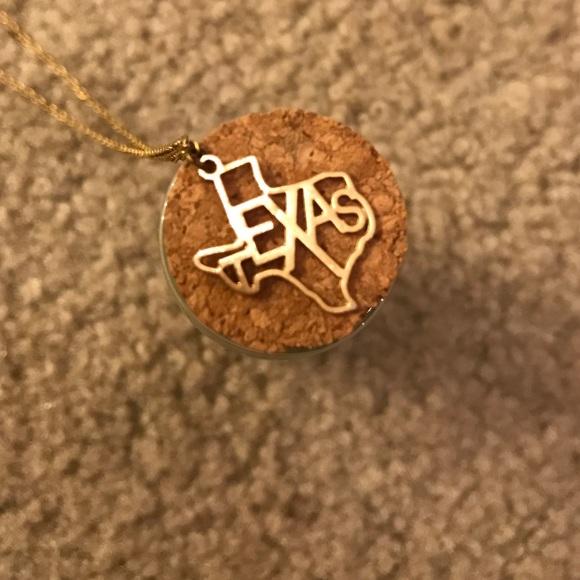 Kris nations jewelry texas state necklace poshmark m584f3a47713fde2e4b0530f3 aloadofball Images