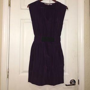 RACHEL Rachel Roy Dresses & Skirts - Purple V-neck Dress w/ Pockets