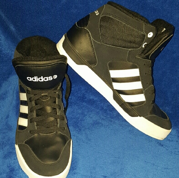 new high quality thoughts on large discount Adidas NEO Hoops VS Mid shoes