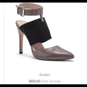 Sole Society Kirsten Heels New Size 8