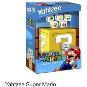 Nintendo Other - Yahtzee Super Mario Collector's Edition HTF