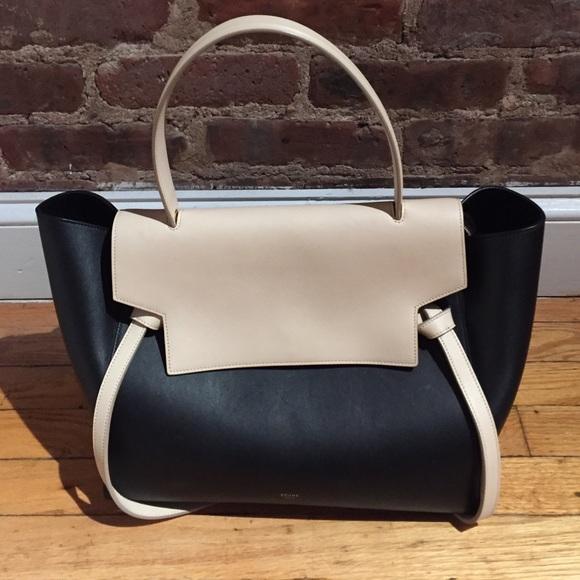 Celine Handbags - Authentic Two-tone Celine Belt Bag 12f39e3756