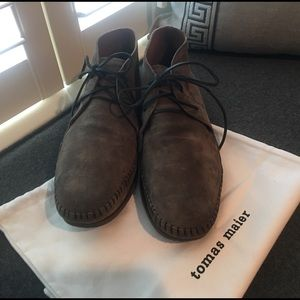 Tomas Maier Other - Tomas Maier Brown Lace Up Desert Boots