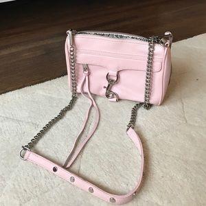 REBECCA MINKOFF blush pink bag!
