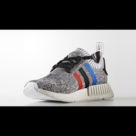 fc9937e61 Adidas Other - Adidas nmd r1 primeknit tricolor grey