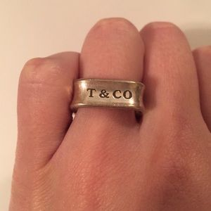 Tiffany and Co. square ring