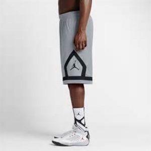 Jordan Flight Cloud Diamond Jumpman Shorts Gray