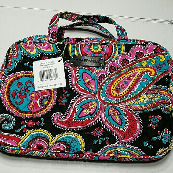 ac4d99a4fa Vera Bradley Grand Cosmetic Bag