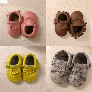 Other - NWT Leather Baby Moccasins