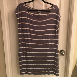 Swell Dresses & Skirts - Stripe slouchy tee dress