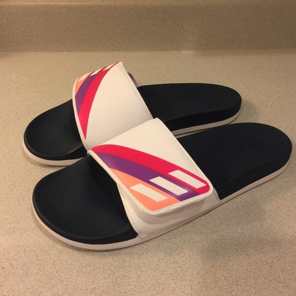 NWOT Adidas Adilette Cloudfoam Ultra Slide