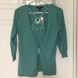 NWT August Silk S Sweater Top