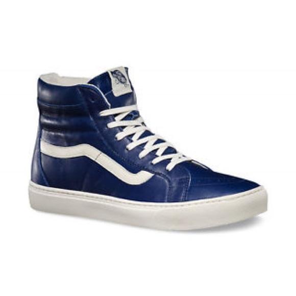 975e584d3d98e7 Vans SK8-Hi Cup CA (Patriot Blue True White)