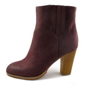 80%20 Shoes - 80%20 Larson High Heel Ankle Boot, Oxblood