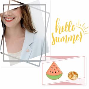 HP {WILA} Slice of Summer Pin