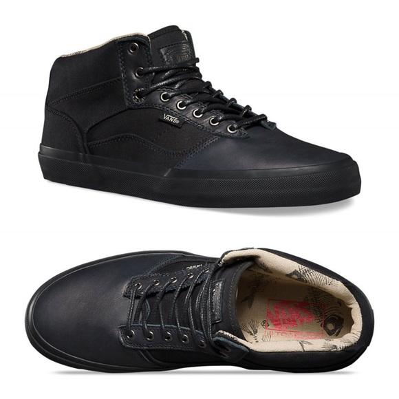Vans Shoes Black On Black Fish Bone Bedfords Poshmark